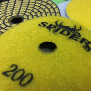 Spider Dry Polishing Pads by Nikon Diamond Tools