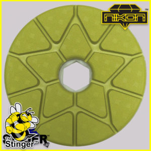 Stinger Pro Edge Polishing Pads by Nikon Diamond Tools