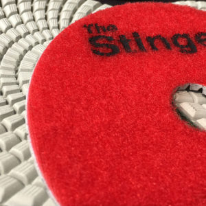 Stinger Engineered Stone Polishing Pads by Nikon Diamond Tools