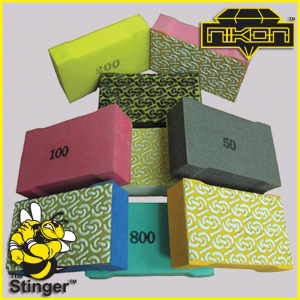 The Stinger Hand Polishing Pads by Nikon Diamond Tools