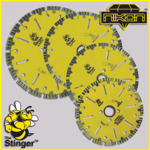 The Stinger Sub Zero Diamond Blade by Nikon Diamond Tools for granite, quartz, natural stone
