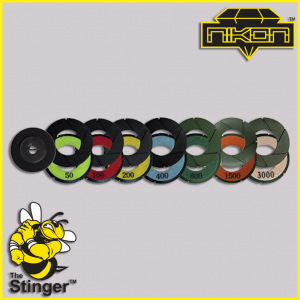 The Stinger Turbo Polishing Discs by Nikon Diamond Tools