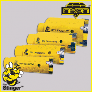 The Stinger T-Type Core Bit by Nikon Diamond Tools for Granite, Quartz, Natural Stone, Engineered Stone