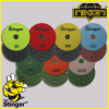 The Stinger Brick Wet Polishing Pads by Nikon Diamond Tools for Granite, Quartz, Natural Stone, and Engineered Stone
