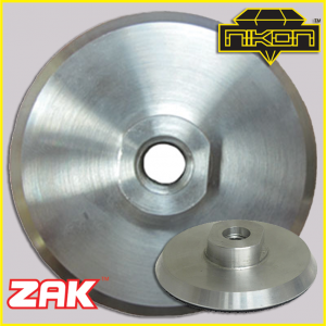 Zak Aluminum Backer Pad for Polishing Stone