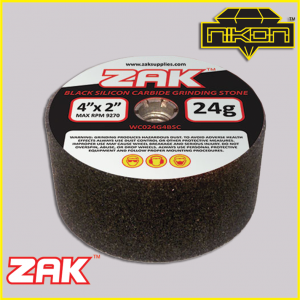 Zak Black Silicon Grinding Stones by Nikon Diamond Tools for Granite, Quartz, natural stone, engineered stone