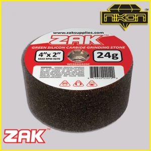 Zak Green Silicon Grinding Stones by Nikon Diamond Tools for Granite, Quartz, natural stone, engineered stone