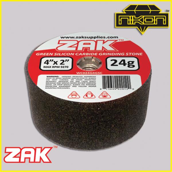 Zak Green Silicon Grinding Stones by Nikon Diamond Tools for Granite, Quartz, natural stone, engineered stone
