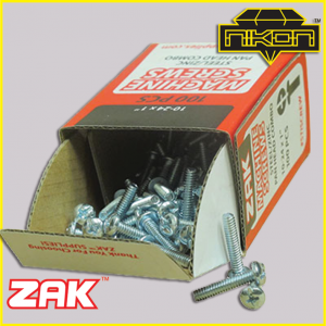 Zak Screws by Nikon Diamond Tools