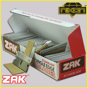 Zak Razor Blades by Nikon Diamond Tools