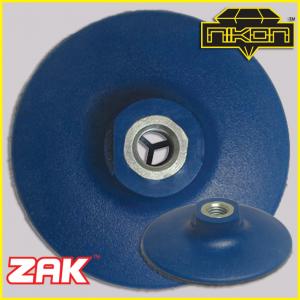 Zak Rigid Blue Backer Pads by Nikon Diamond Tools