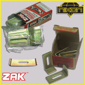 Zak sink clips and brackets by Nikon Diamond Tools