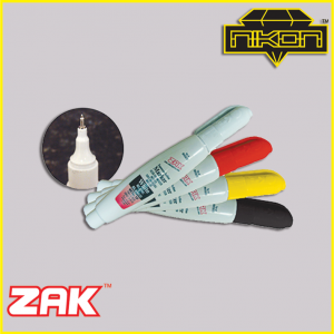 Zak white tip markers by Nikon Diamond Tools