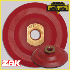 Zak Super Flex Backer Pads by Nikon Diamond Tools