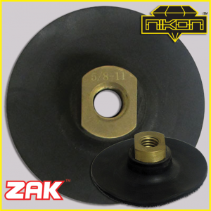 Zak Super Flex Backer Pads by Nikon Diamond Tools