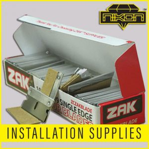 Installation Supplies